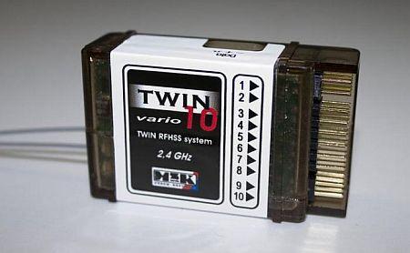 Přijímač Twin10E Vario